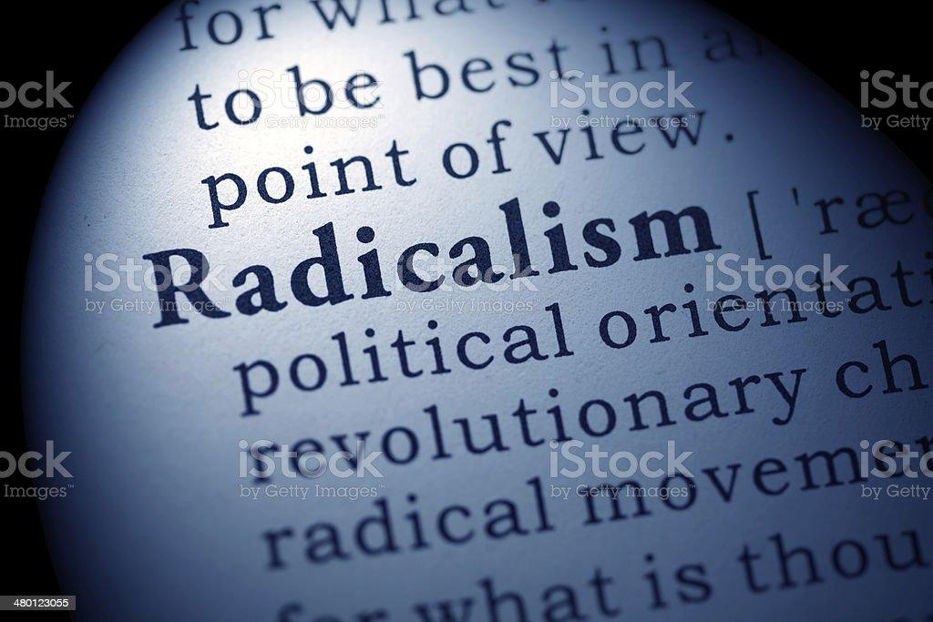 radicalism stock photo