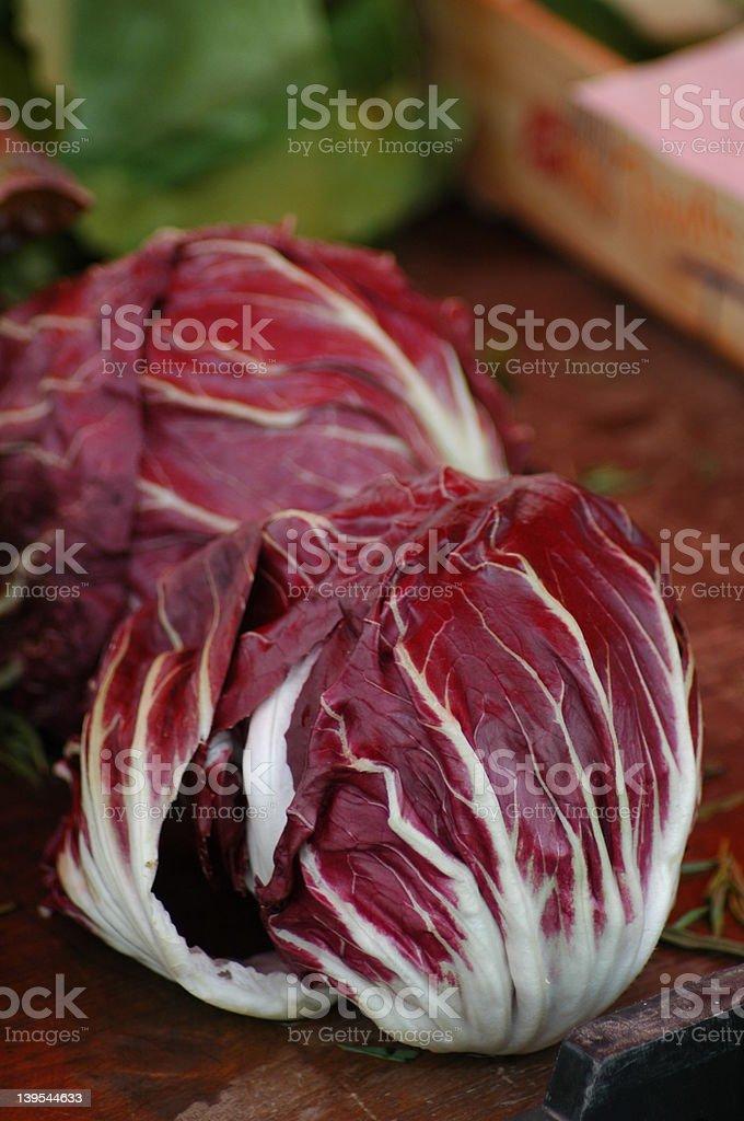 Radiccio Salad royalty-free stock photo