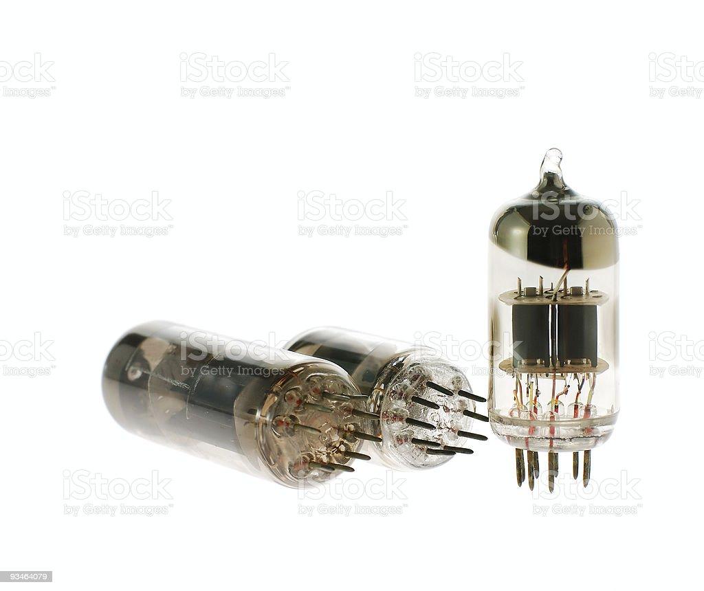 Radio - a lamp stock photo
