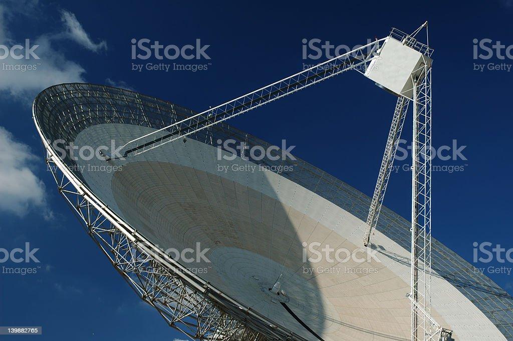 Radio Antenna Dish. Close-up. royalty-free stock photo