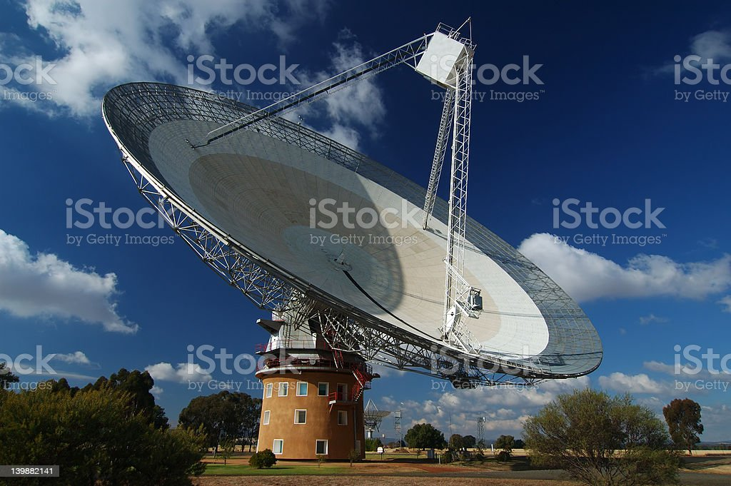 Radio Antenna Dish royalty-free stock photo