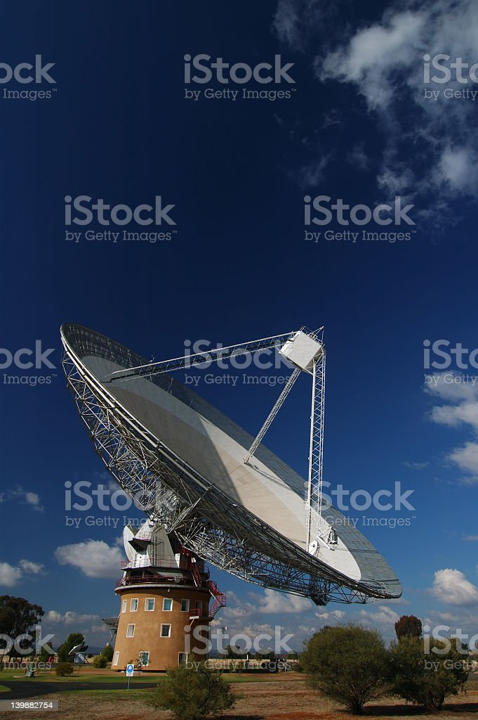 Radio Antenna Dish royalty-free stock photo