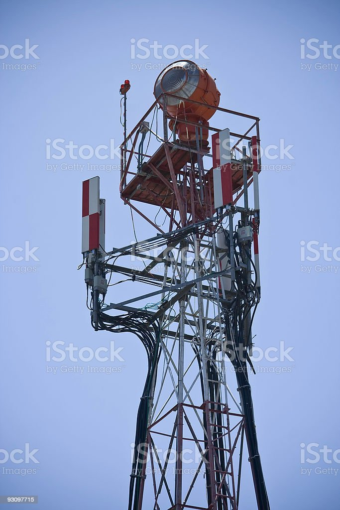 Radio / Beacon Tower royalty-free stock photo