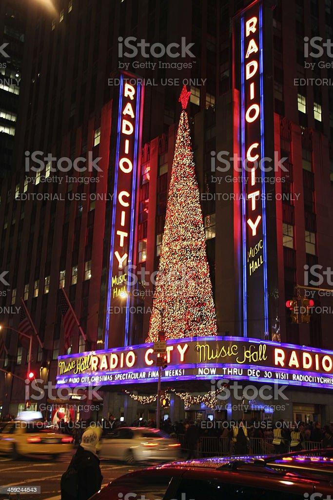 Radio City Music Hall, NYC stock photo