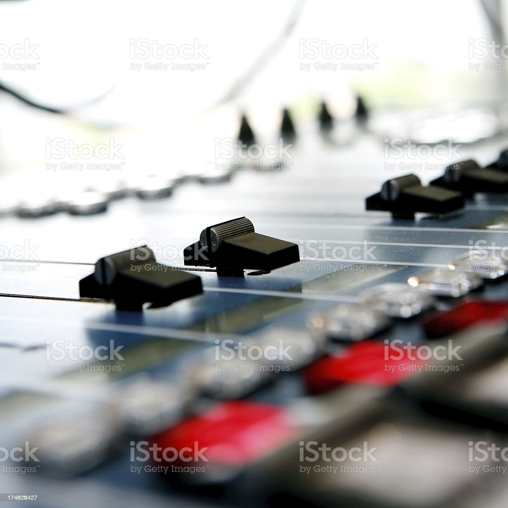 Radio Control System royalty-free stock photo