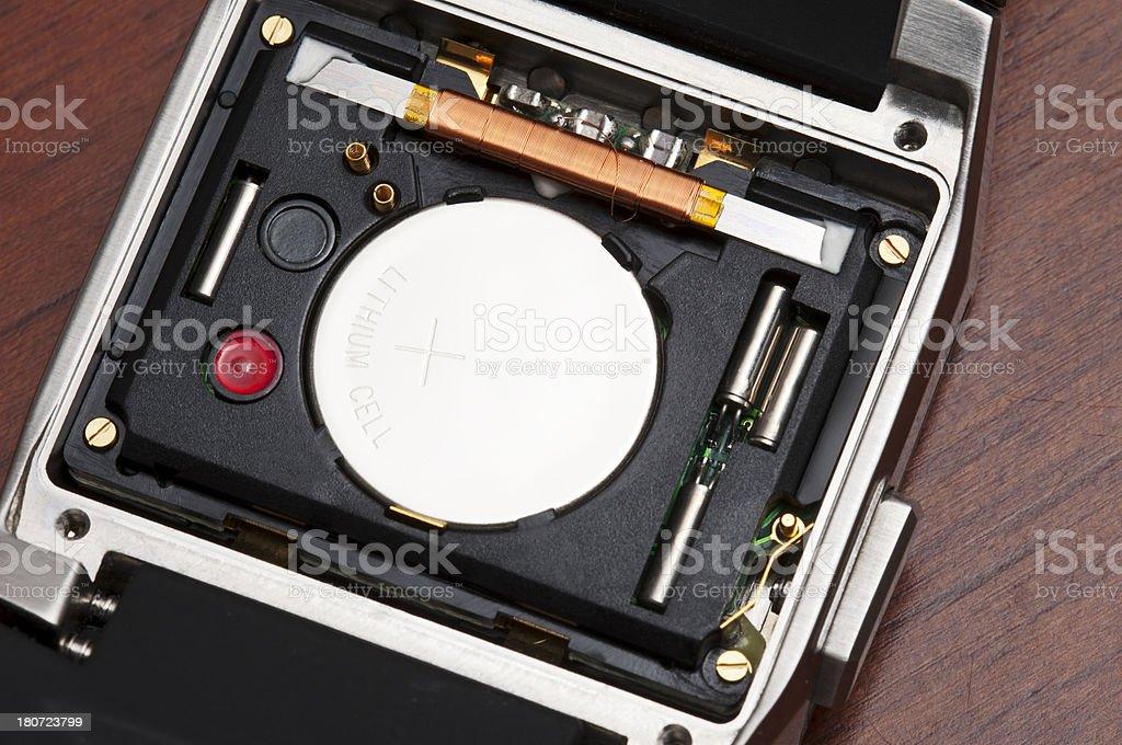 Radio controlled watch stock photo