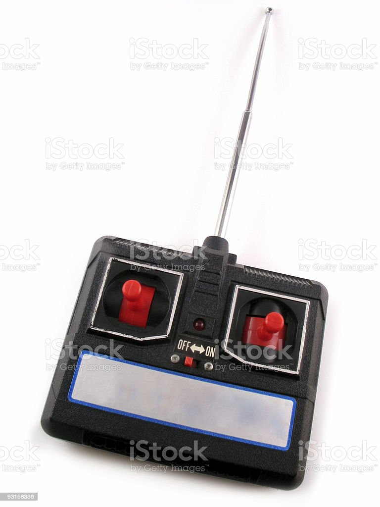 Radio Controller Isolated | Remote Control Toy stock photo