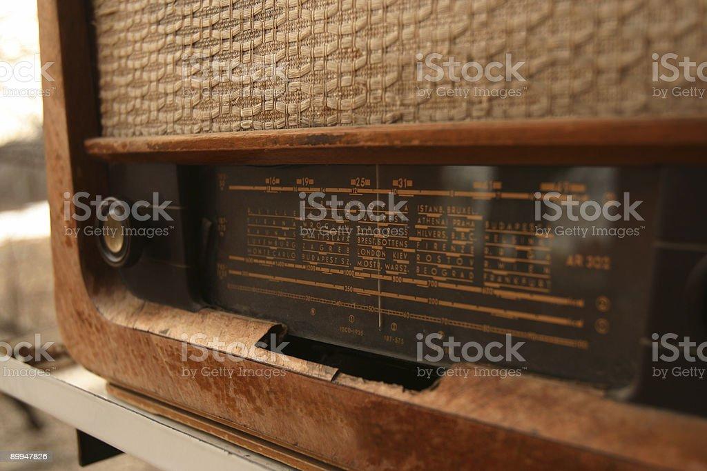 Radio East stock photo