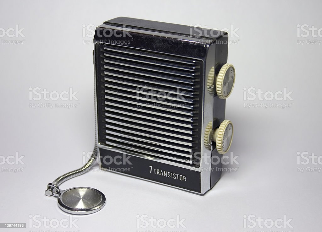 Radio royalty-free stock photo