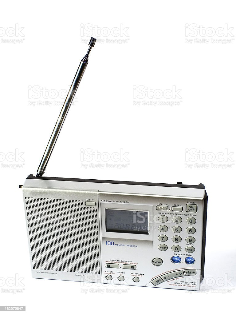 Radio stock photo