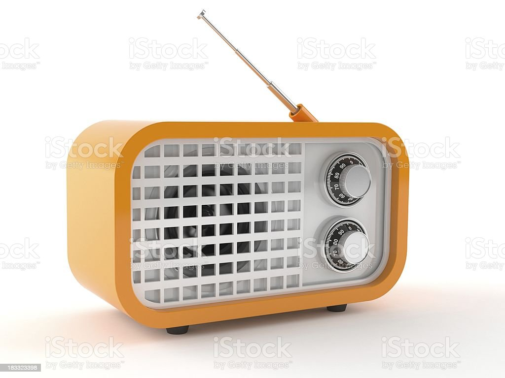 Radio stock photo
