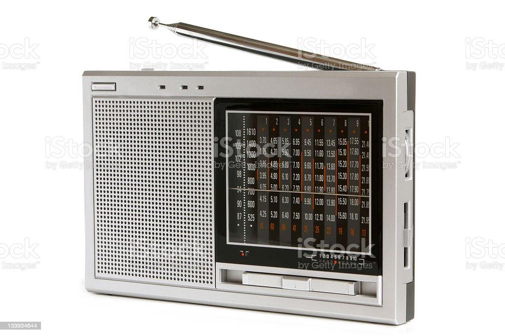 Radio receiver stock photo