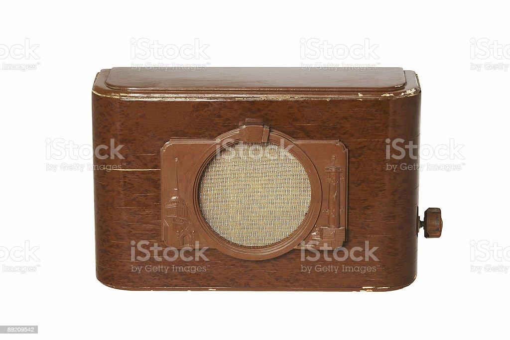 radio set 4 stock photo