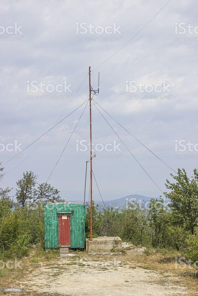 Radio Signal stock photo