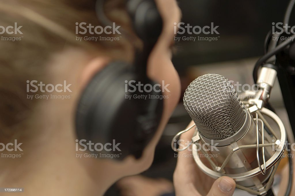 radio speaker royalty-free stock photo