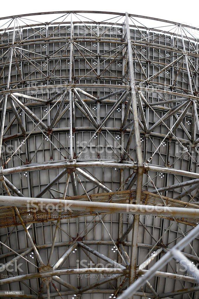 Radio Telescope Background stock photo
