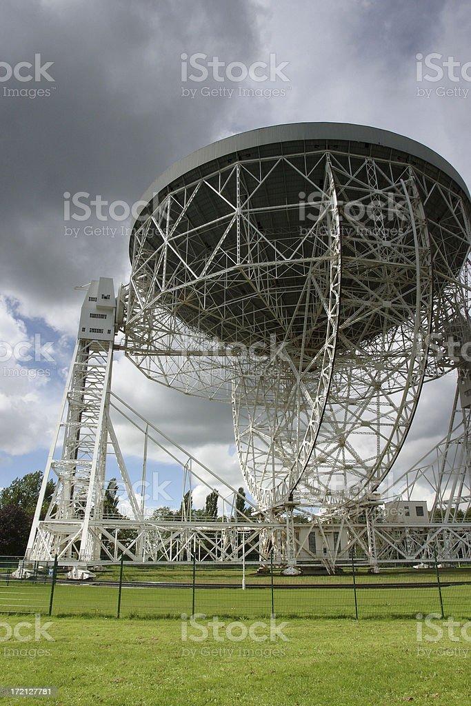 Radio Telescope stock photo