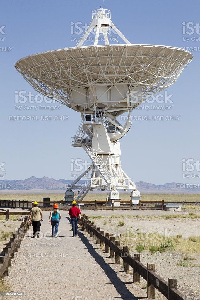 VLA Radio Telescope stock photo