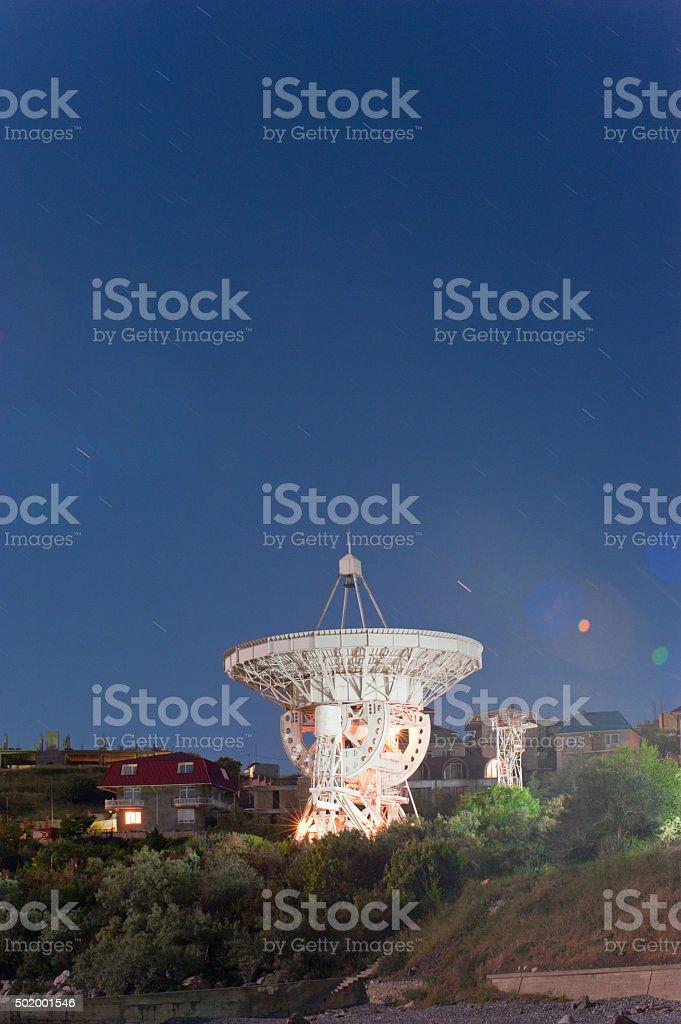 radio telescope Lizenzfreies stock-foto