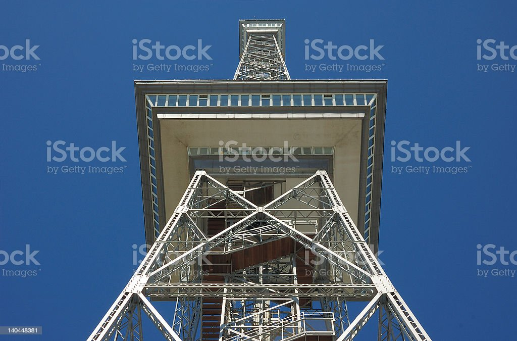 Radio Tower Berlin stock photo