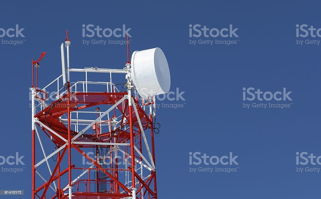 radio  tower royalty-free stock photo