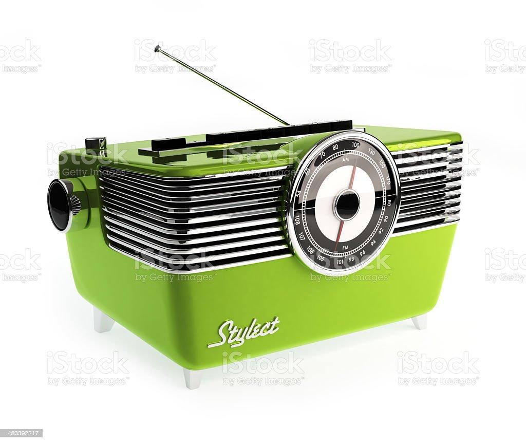 Radio Vintage stock photo