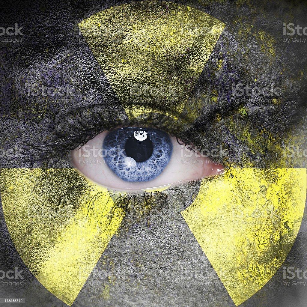Radioactive concept stock photo