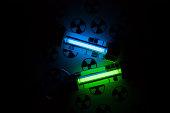 Radioactive lights