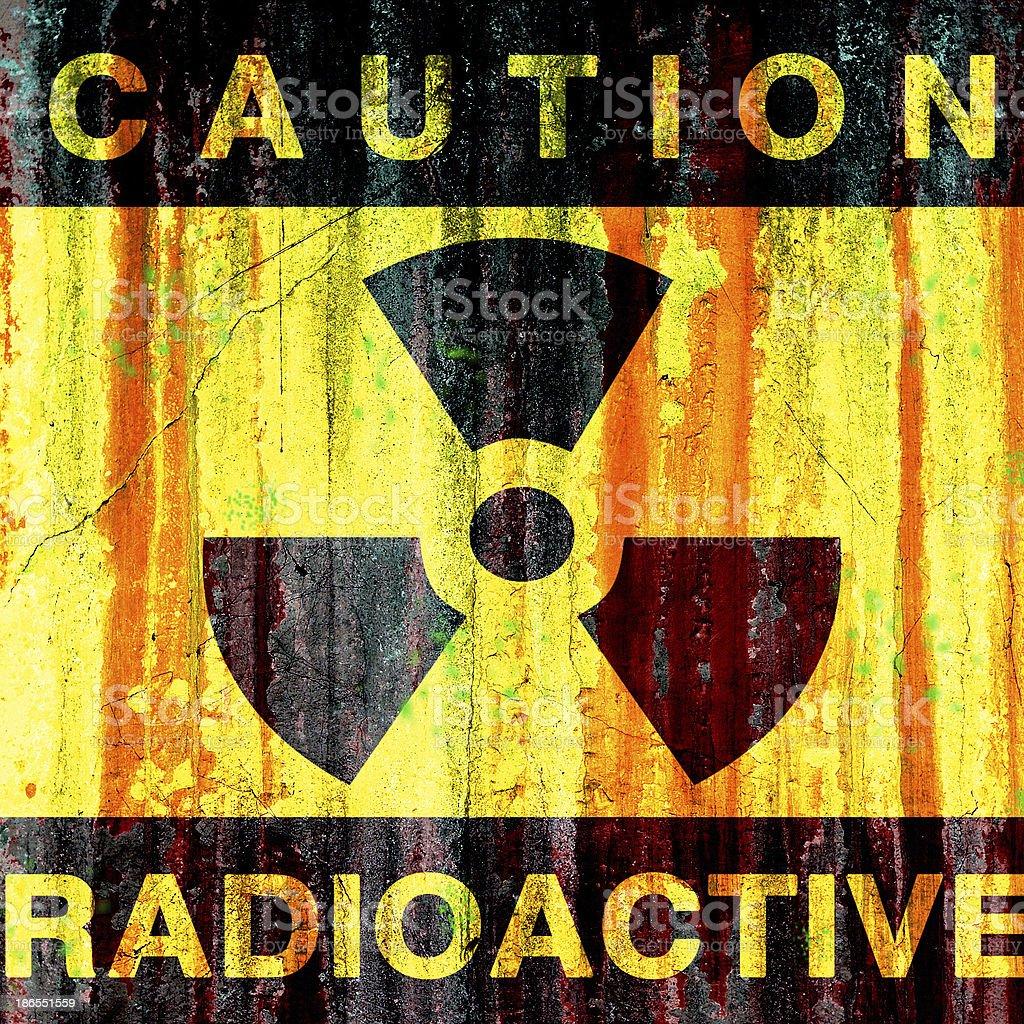 Radioactive royalty-free stock photo