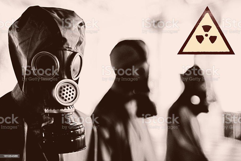 Radioactivity stock photo