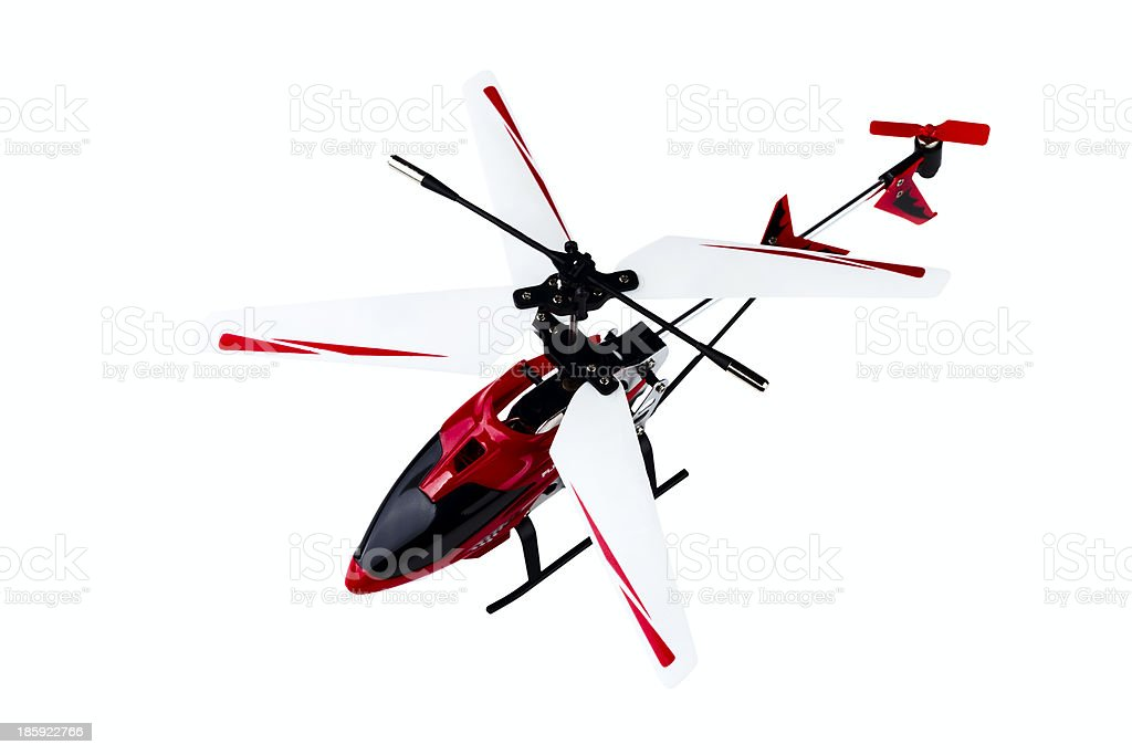 radio-controlled model of the helicopter royalty-free stock photo