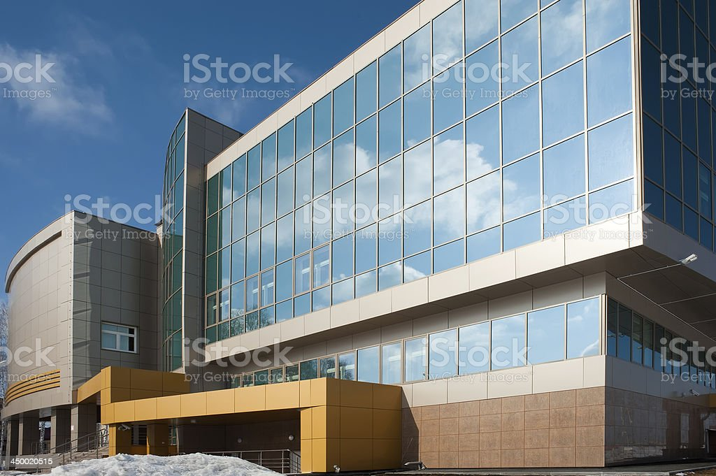 radiological center, Tyumen, Russia stock photo