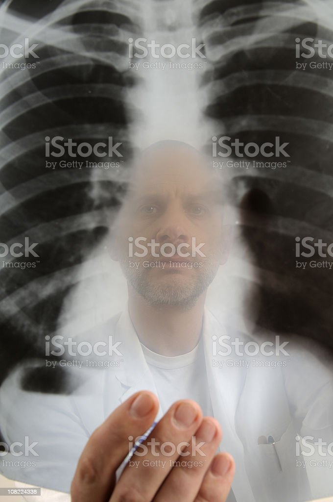 Radiologist royalty-free stock photo
