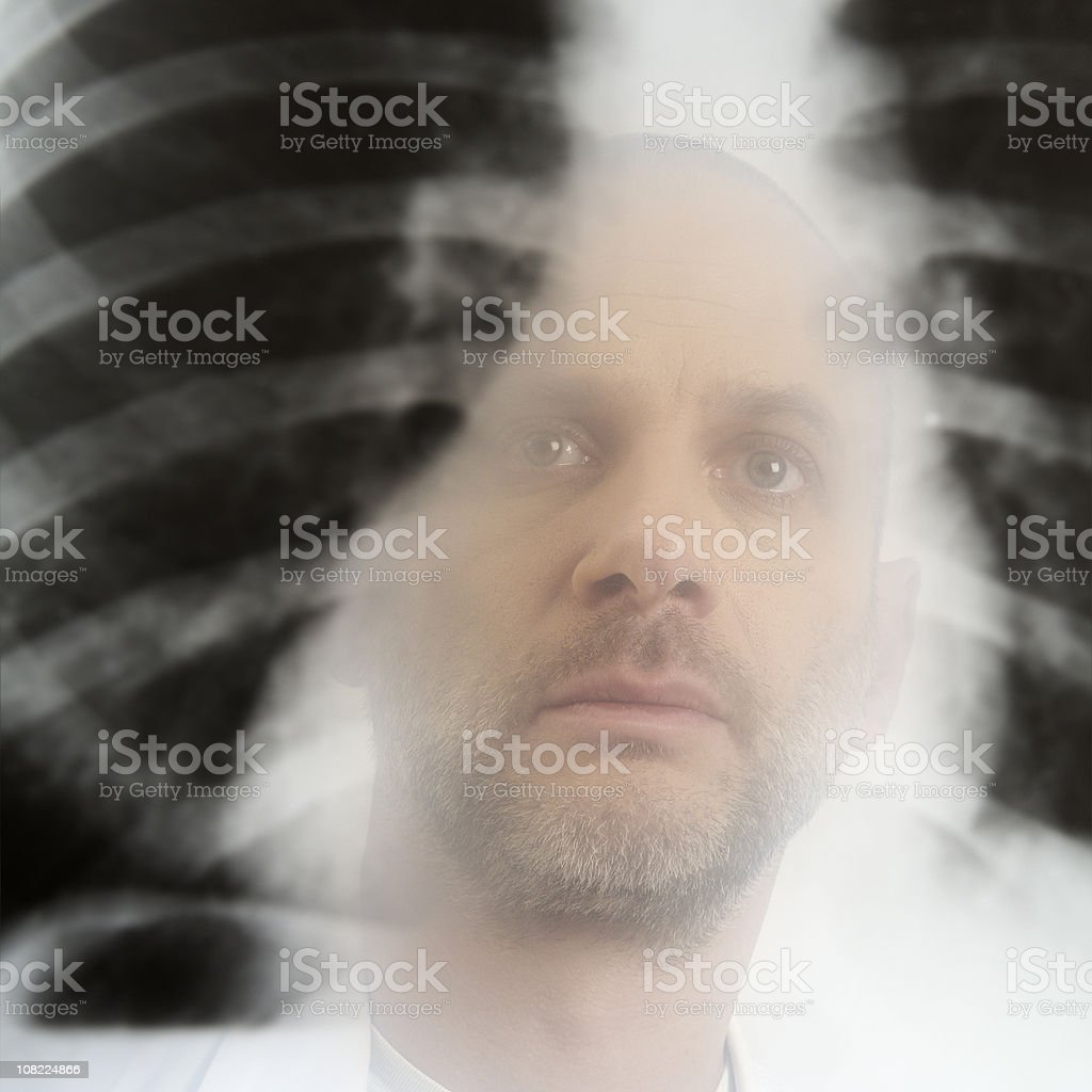 Radiologist royalty-free stock photo