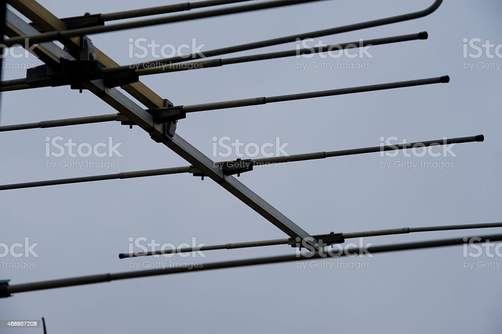 Radio-relay system stock photo