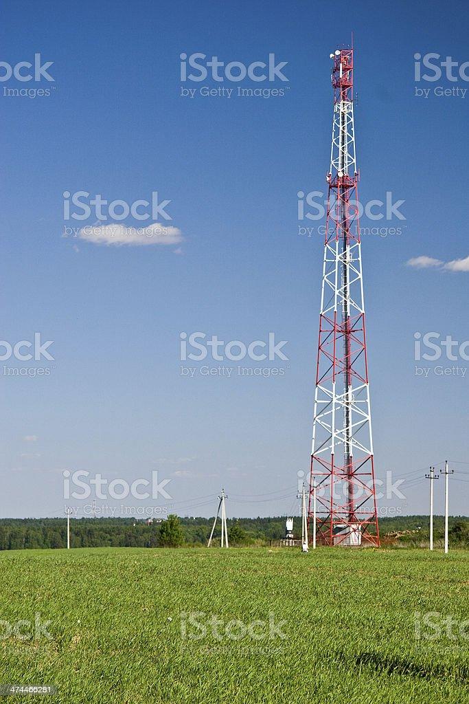 Radio-tower stock photo