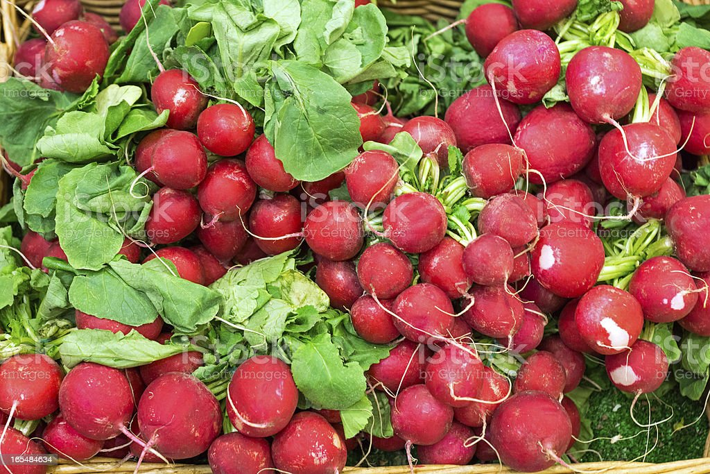 Radish for sale royalty-free stock photo