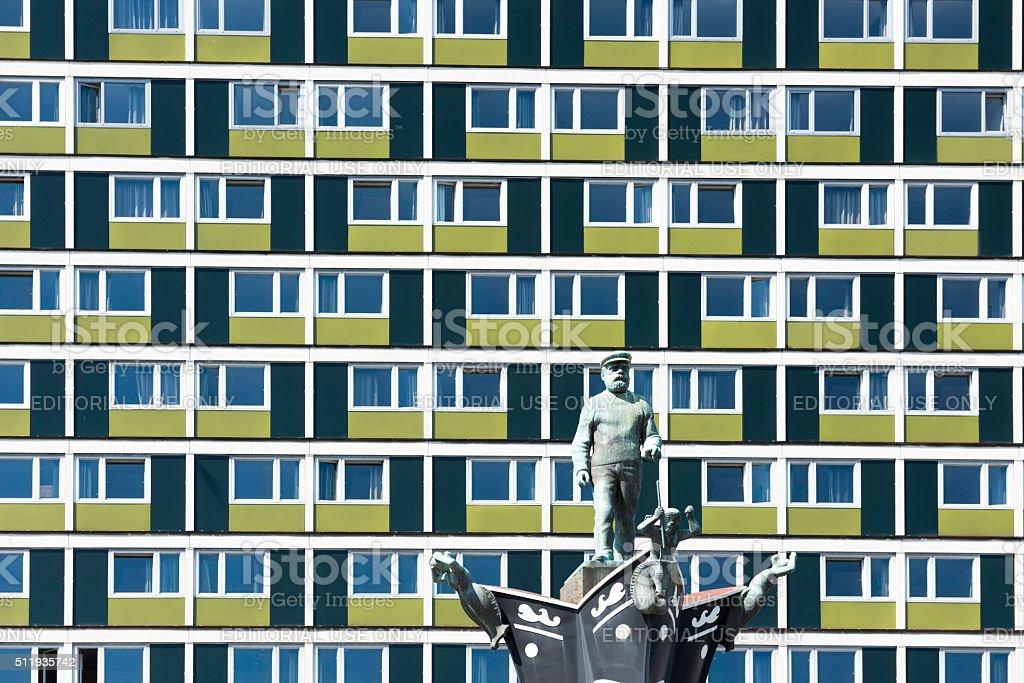 Radisson Blu Caledonien Hotel in Kristiansand, Norway stock photo