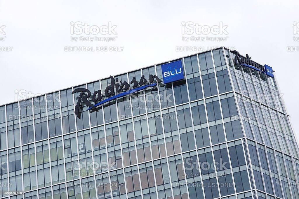 Radisson Blu Hotel stock photo