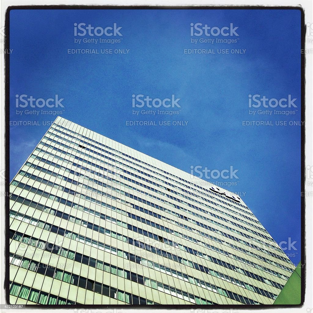 Radisson Blu Royal Hotel in Copenhagen royalty-free stock photo