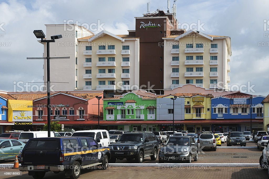 Radisson Hotel-Colon, Panama stock photo
