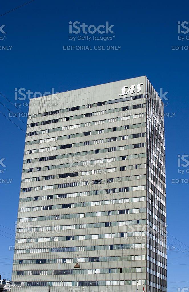 SAS Radisson Royal Hotel, Copenhagen, Denmark stock photo