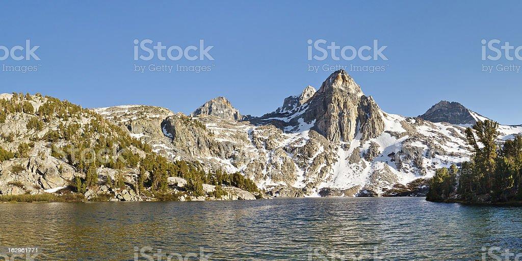 Rae Lakes, Kings Canyon National Park stock photo