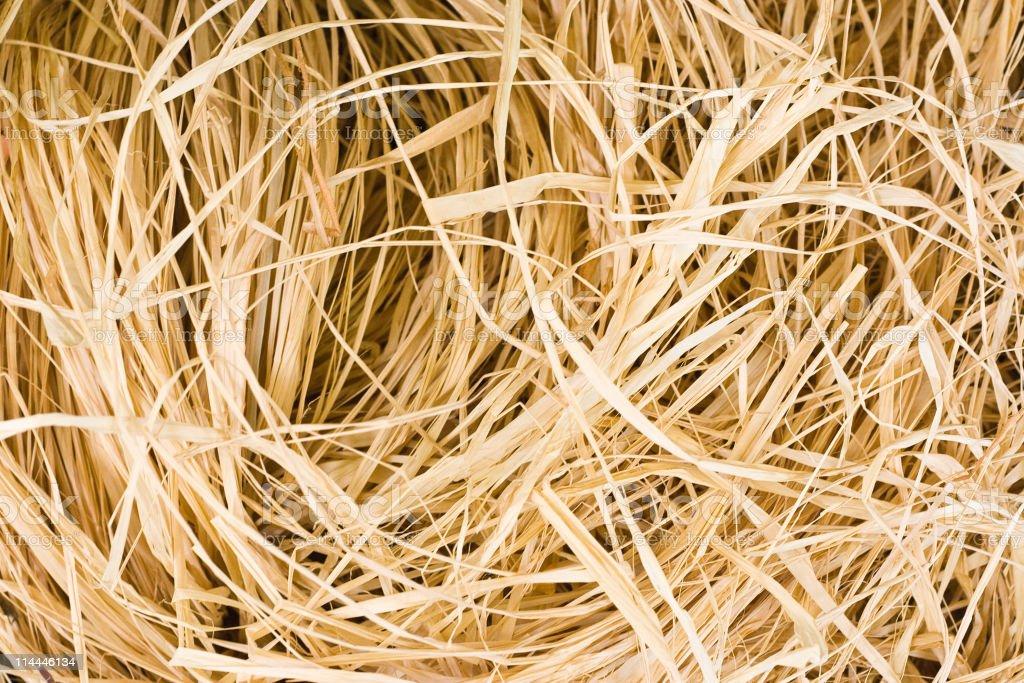 Raffia background stock photo