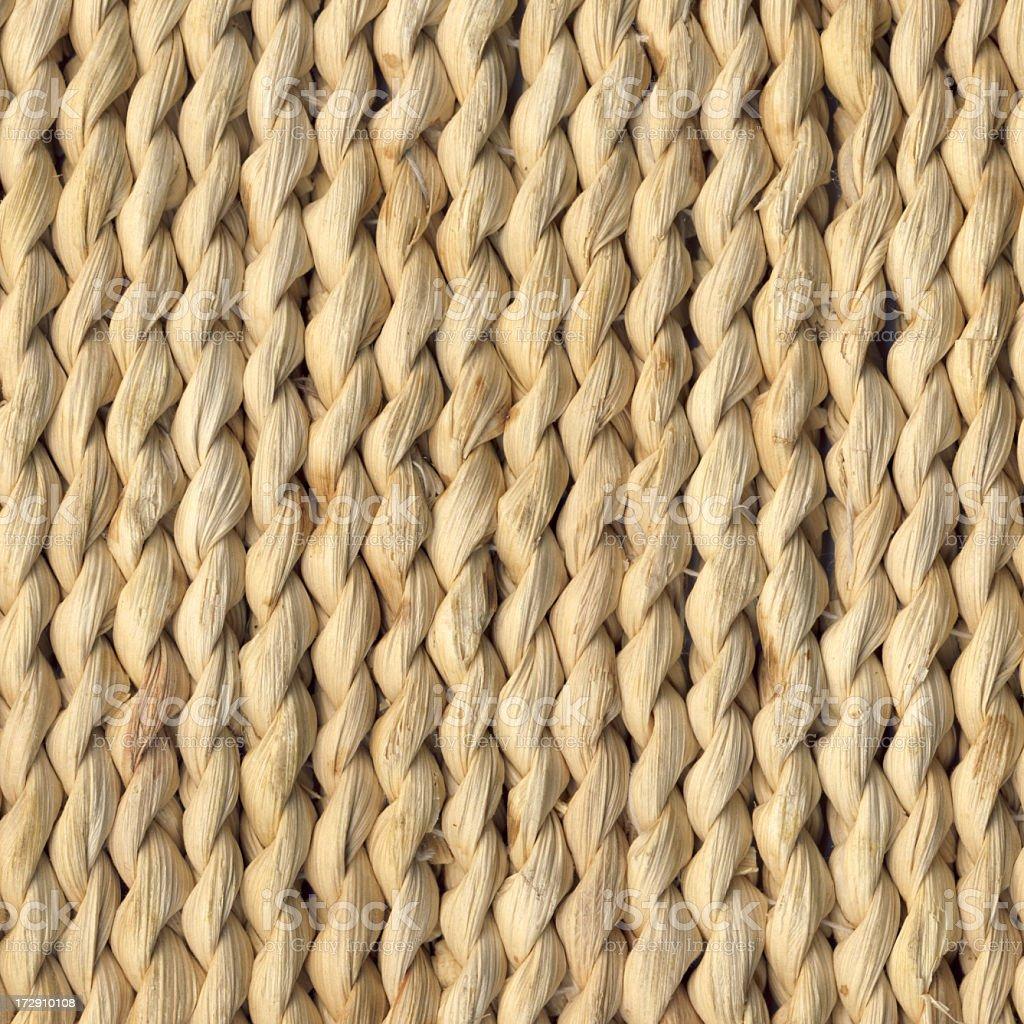 Raffia Mat High Resolution Grunge Texture stock photo