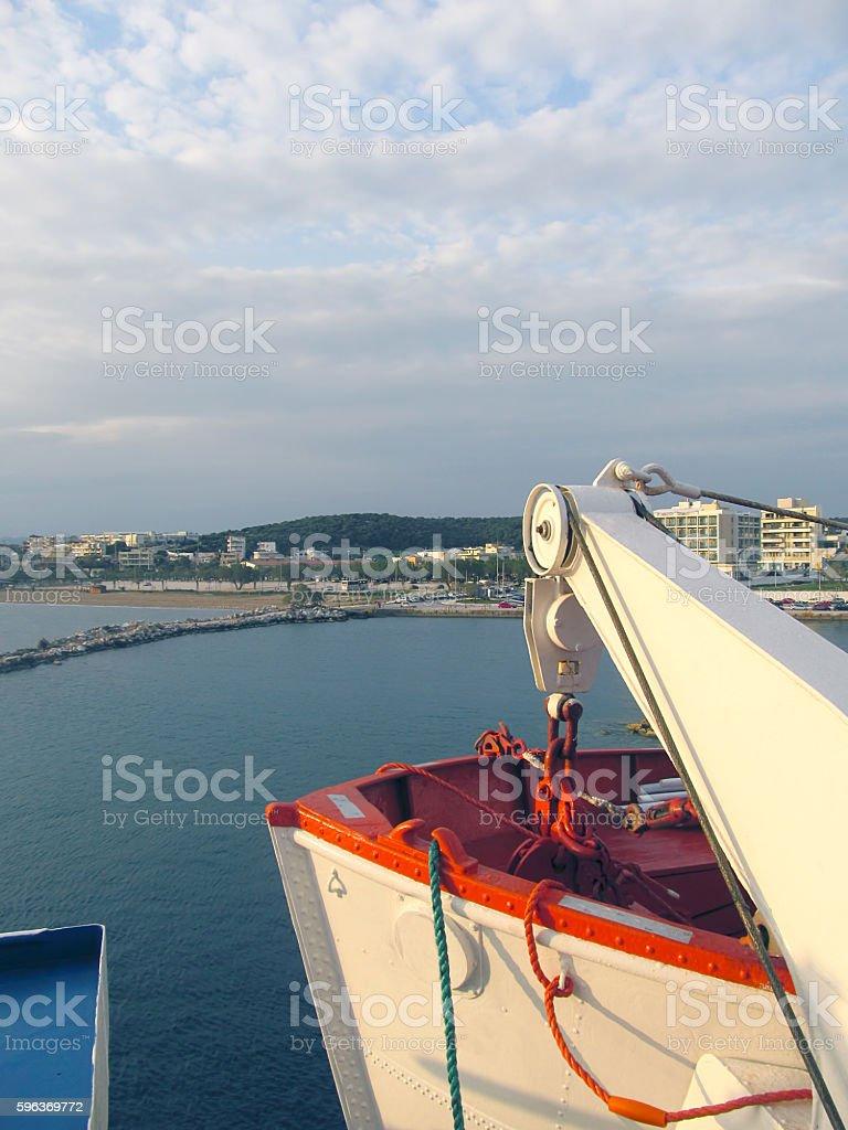 Rafina Port stock photo