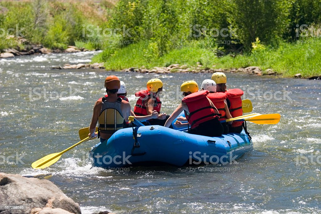Rafting Afternoon royalty-free stock photo