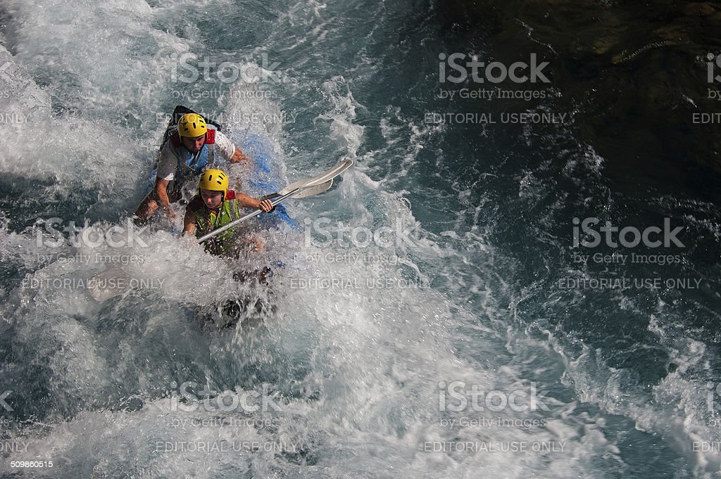 Rafting, Koprucay, Turkey stock photo