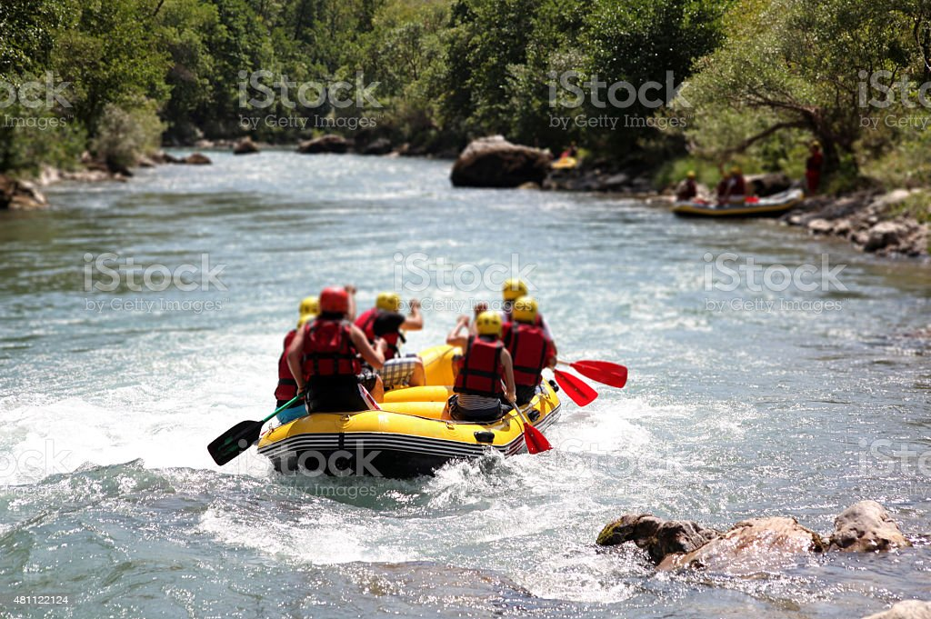 Rafting Sport stock photo