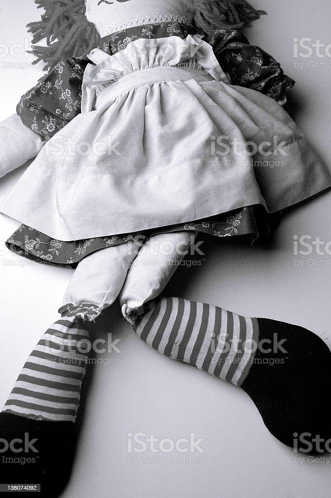 Rag Doll stock photo